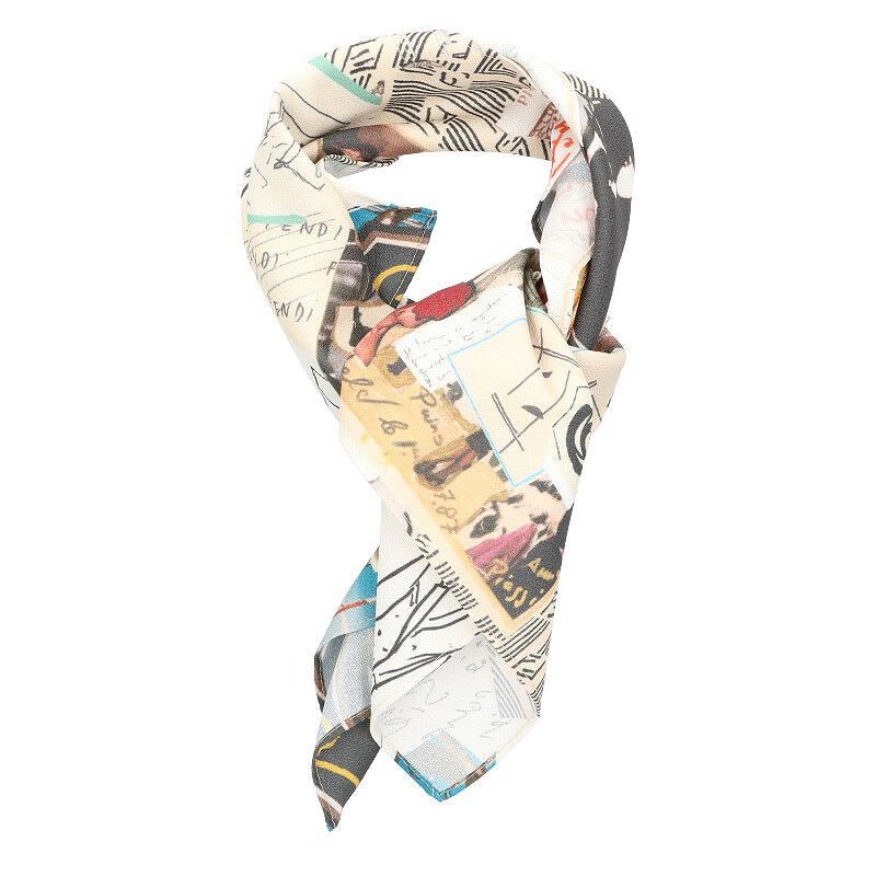 マルチプリントスカーフ