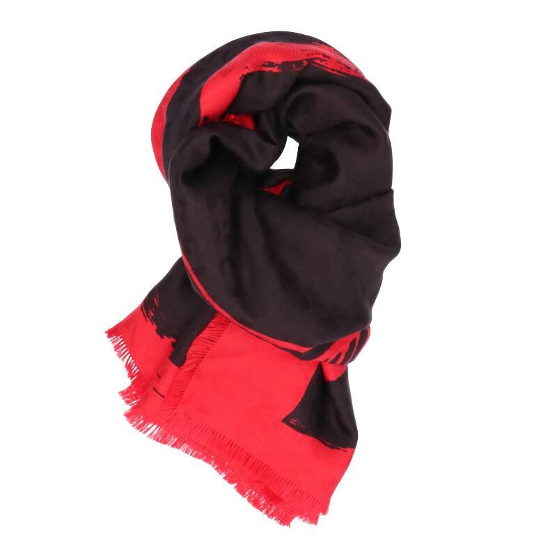シルク総柄スカーフ