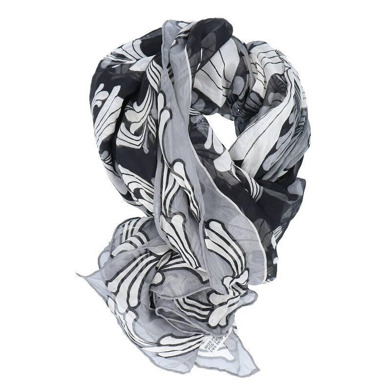 CHプラス総柄シルクスカーフスカーフ