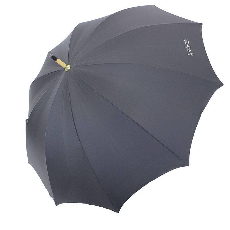 持ち手ウッドロゴプリント傘