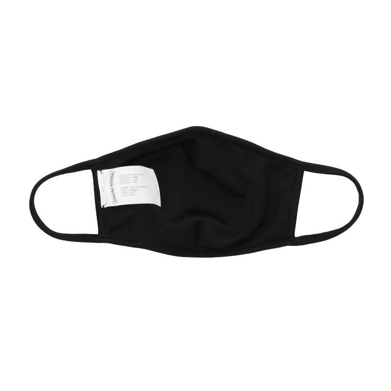 チョンパーレザーパッチ付マスク