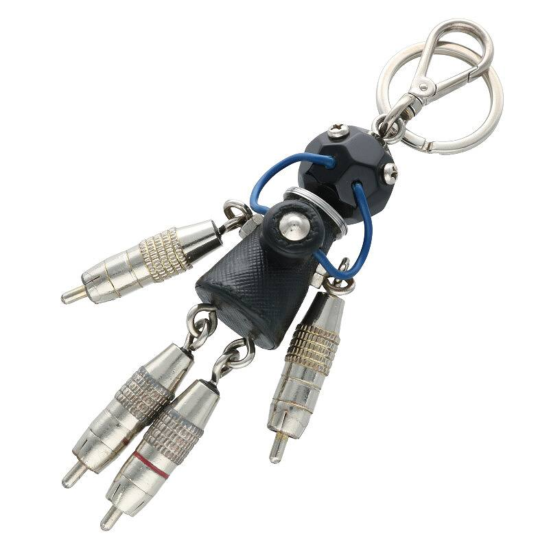 ロボットモチーフキーホルダー