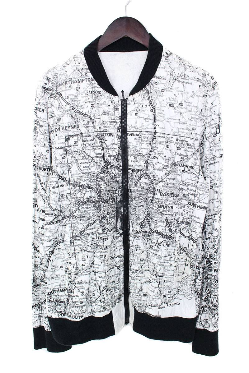 地図柄ペーパージャケット