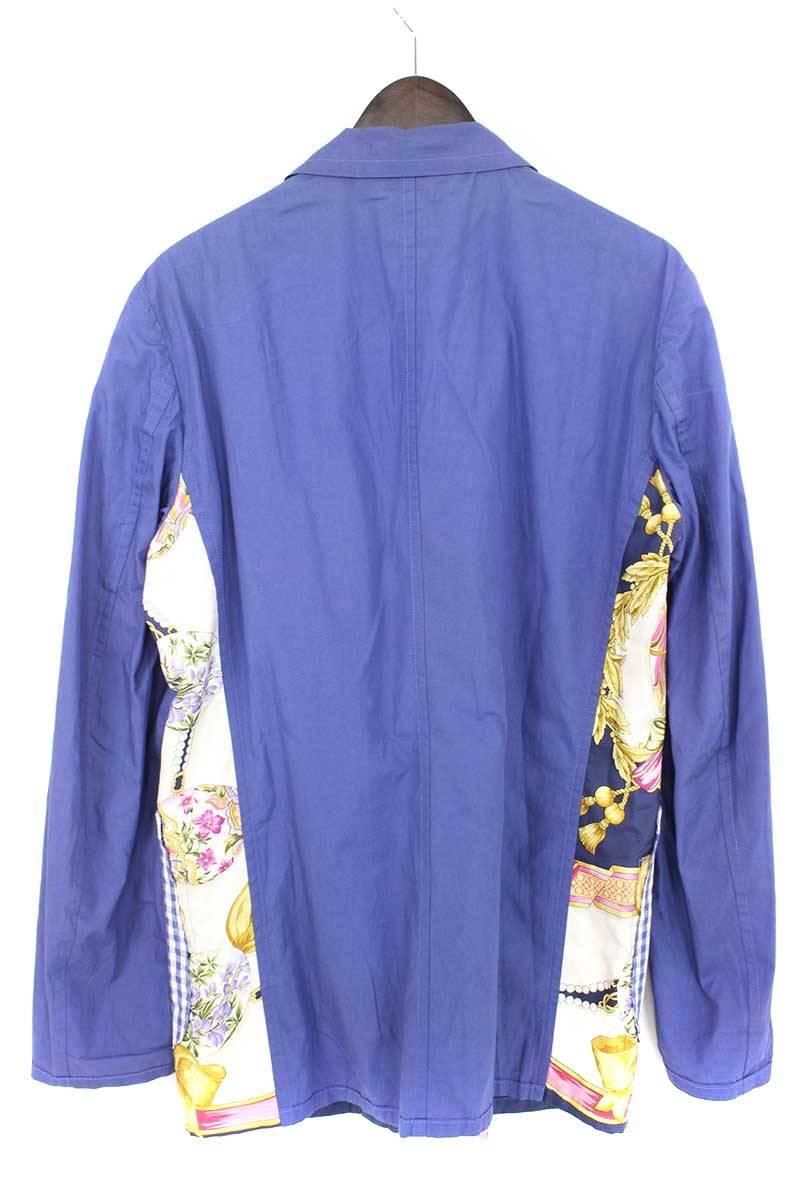 フロントパッチワークジャケット