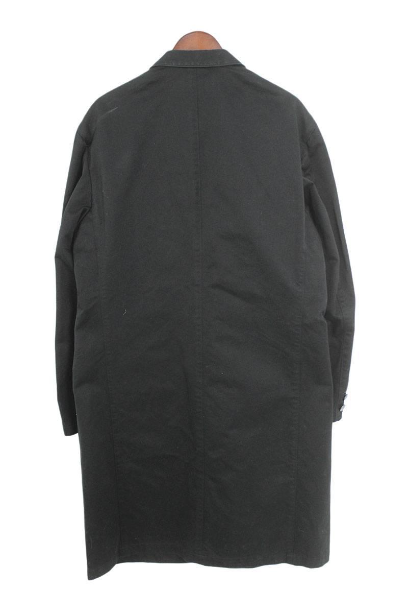 バラ刺繍コンチョボタンコットンギャバジンジャケット