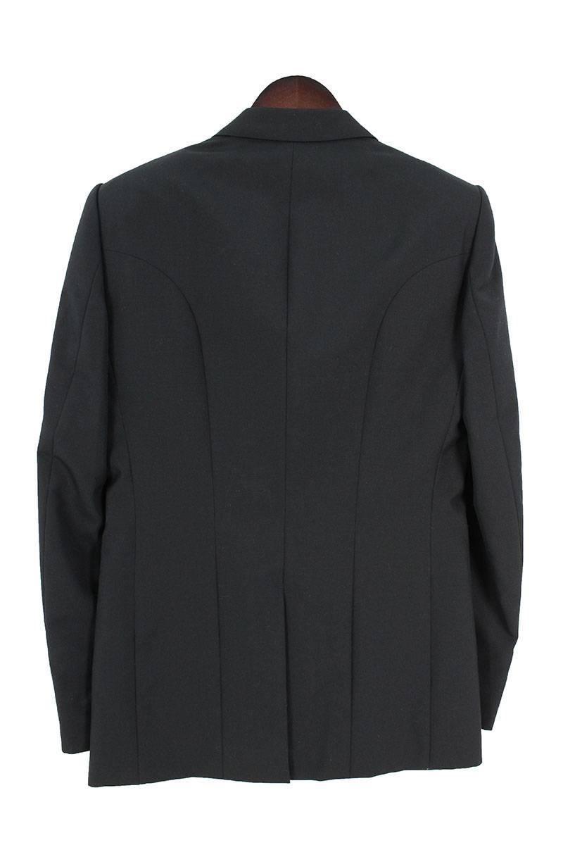 ノッチドラペル1Bウールジャケット