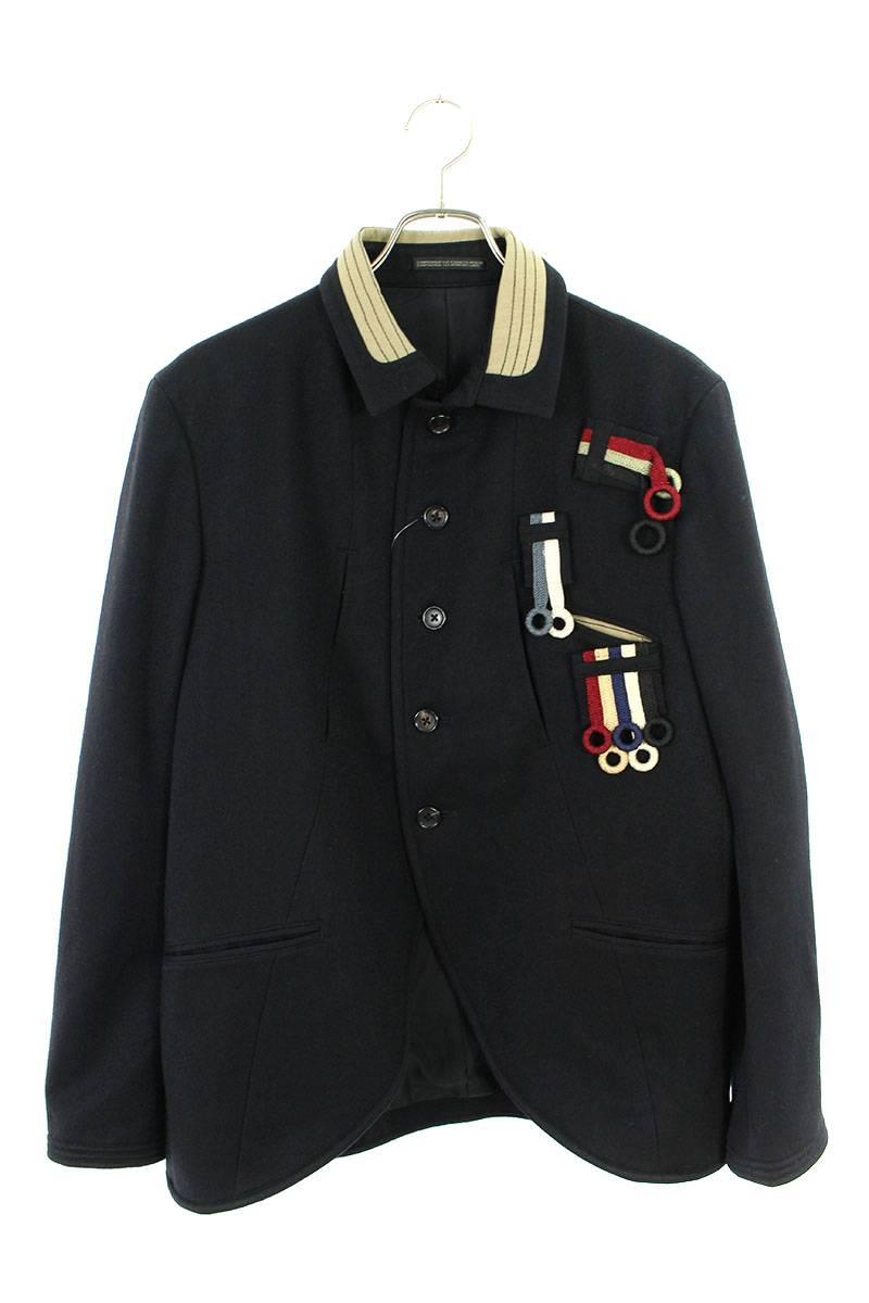 フープワッペンミリタリーウールジャケット