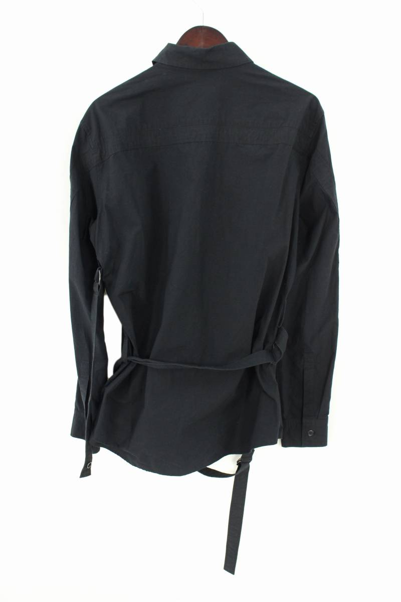 LOOK15パラシュートボンテージコットン長袖シャツ
