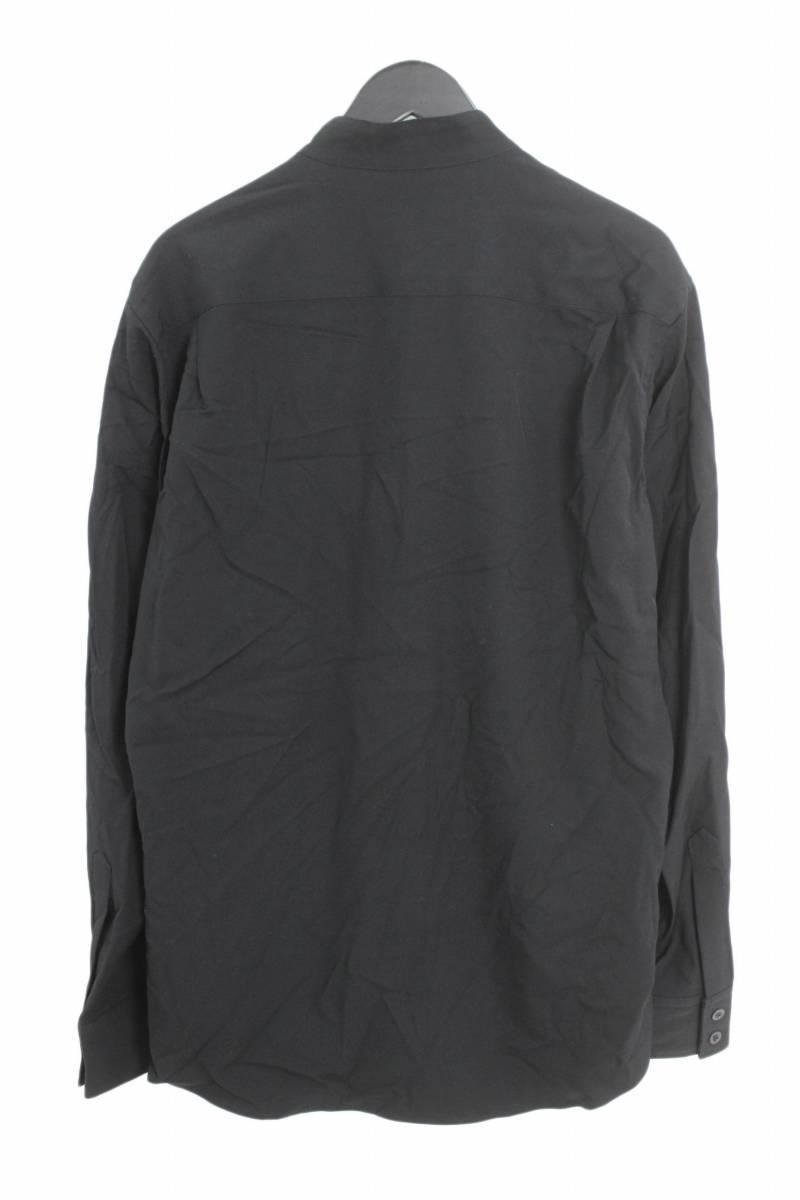 クリップ式ririジップスタンドカラーシャツ