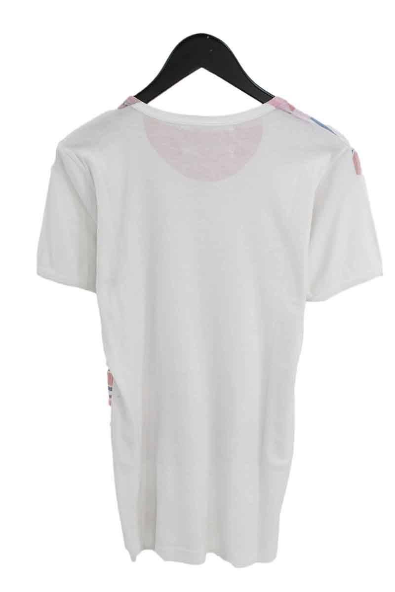 ボーダーT転写プリントTシャツ