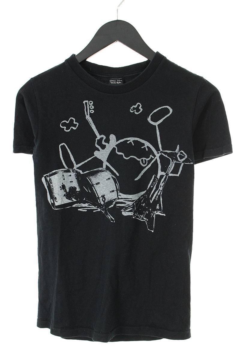 ニルヴァーナ/ドラムプリントTシャツ