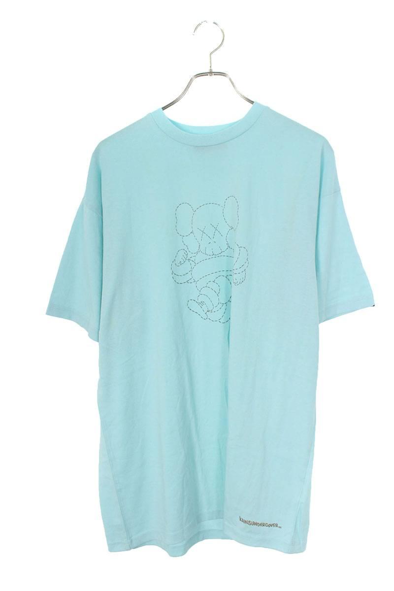 KAWSコラボプリントTシャツ
