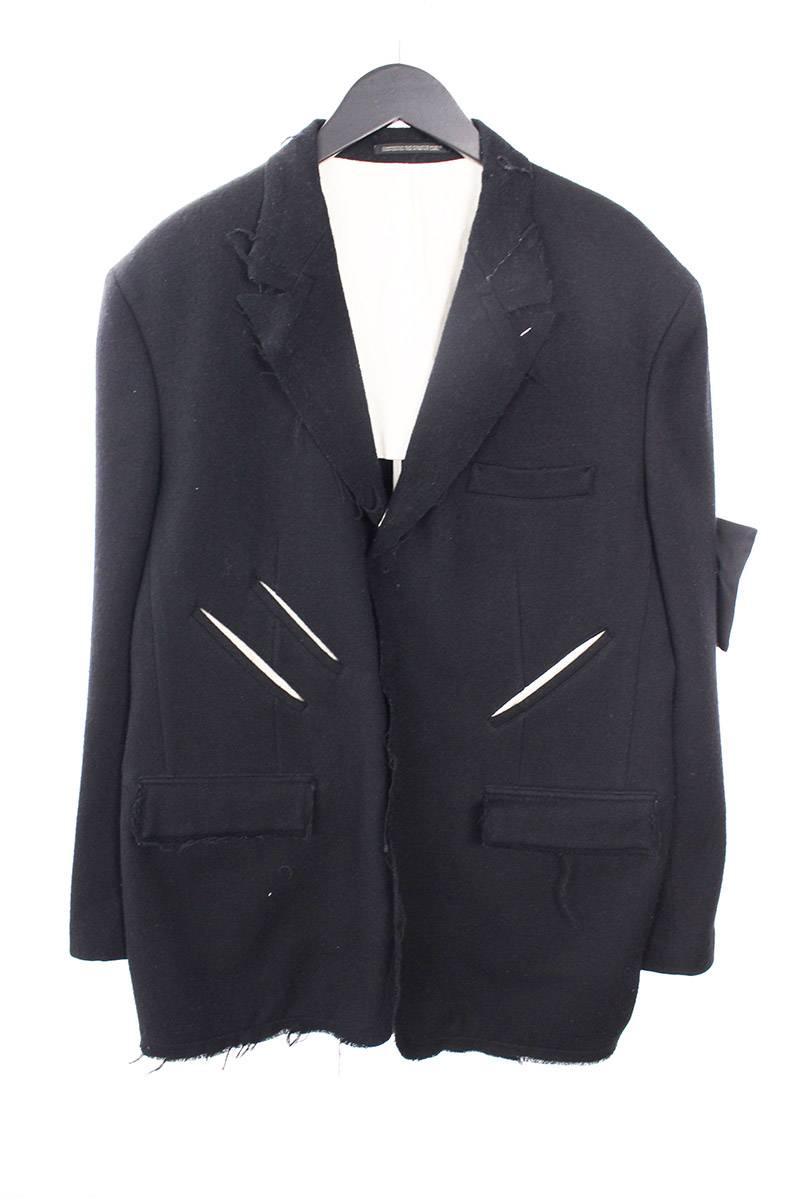 DONTLETITOUTワッペン付きジャケット